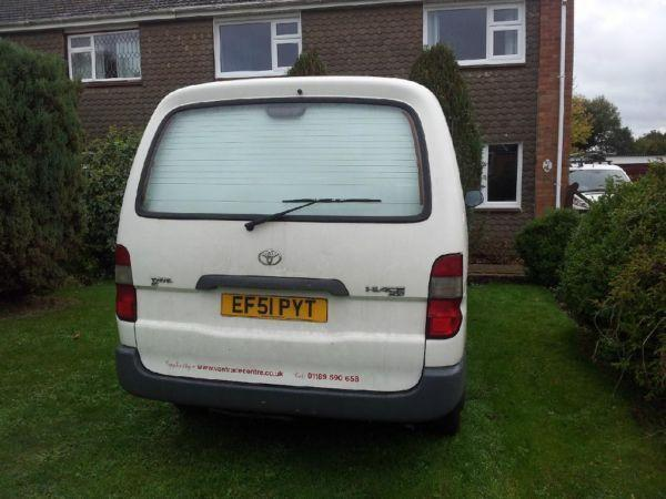 Toyota Hiace Lwb OFFERS WELCOME!! 3 MONTHS MOT AND TAX!!