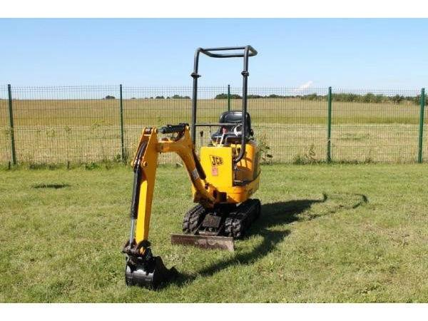 JCB 8008 MICRO DIGGER 1 ton 2008 model 760 hours