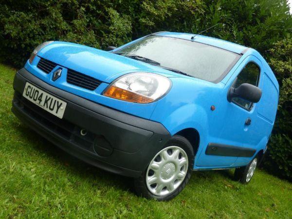 2004 Renault Kangoo Van 1.5DCI Diesel Lomg MOT