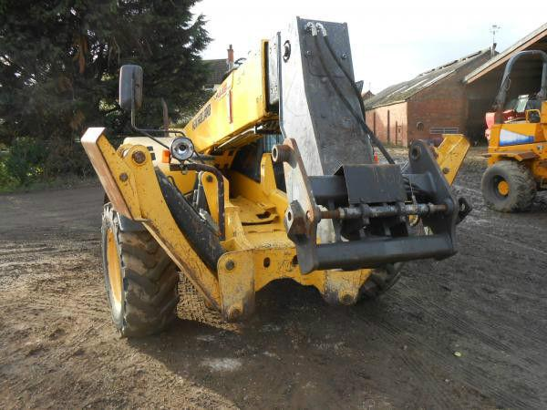 NEWHOLLAND LM1445 14 METER TURBO WITH SWAY QH POWER SHIFT BUCKET VERY CLEAN 2008