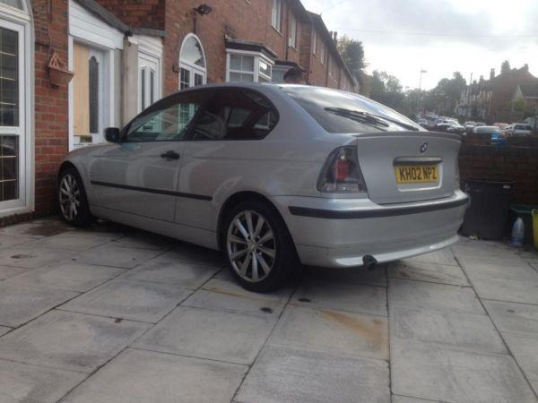 My lovely BMW 316ti compact low mileage