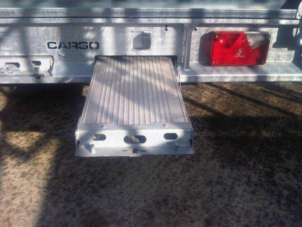 Brian James Cargo flatbed trailer