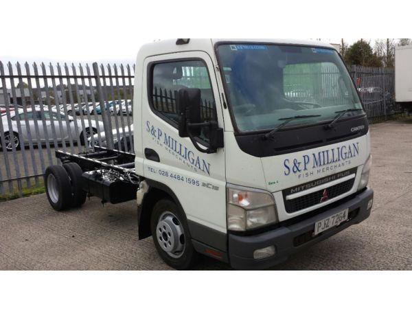 Mitsubishi Fuso 3.5 tonne chassis & cab