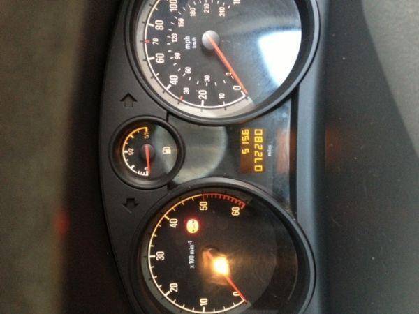 White vauxhall astra 1.9 Diesel van