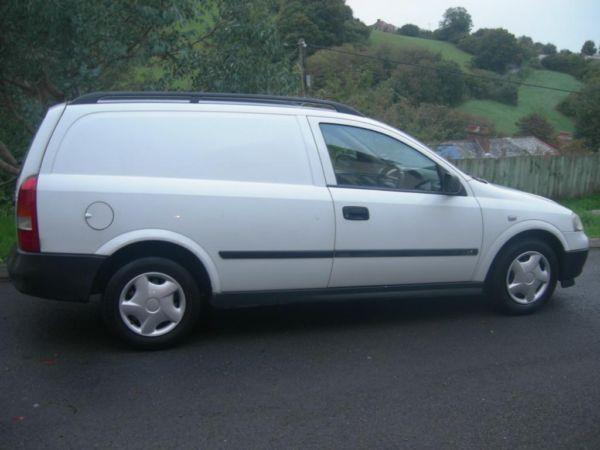 Vauxhall Astra Van LS 1.7TD Diesel 1year's Mot & 6 months Tax