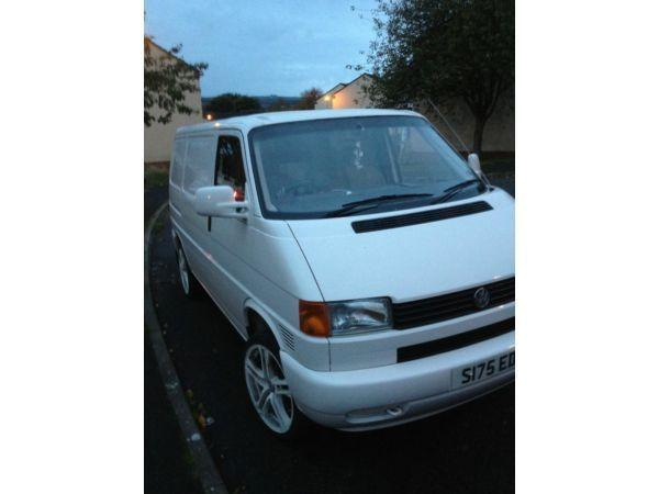 volkswagen transporter T4 white / px welcome