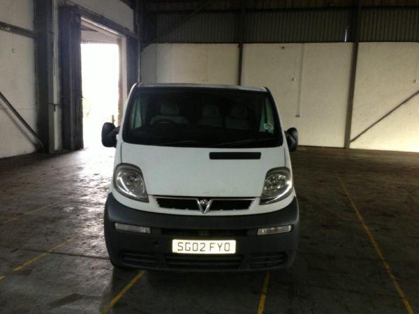 Vauxhall Vivaro Long Mot Good Looking Van Ready To Go