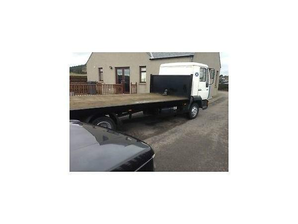 MAN 8.163 flatbed 7.5t