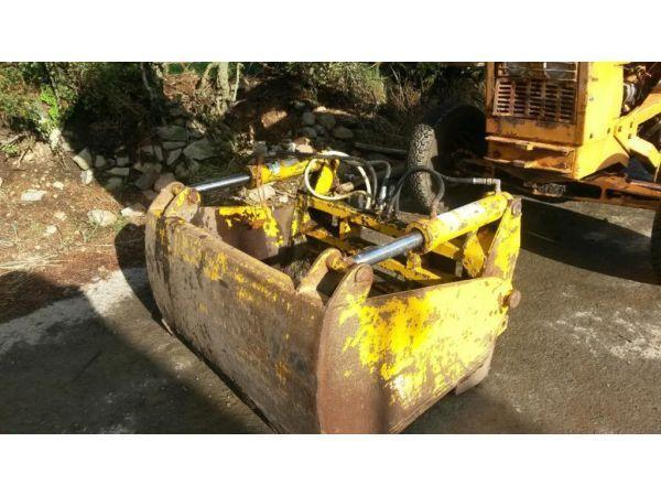 international loader 4 in 1 bucket and shear grab