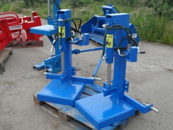 Hydraulic Tractor Mounted Log, block Splitters (Sullivans Engineering)