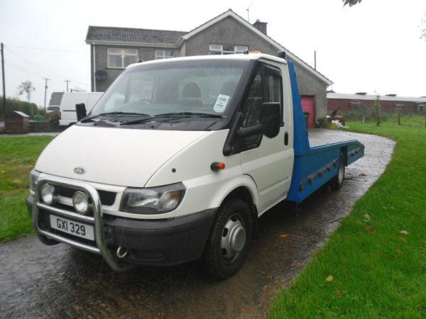 2006 Ford Transit Recovery Lorry 115Bhp T350, Not Vauxhall Vivaro, Renault Traffic Phone 07563999487