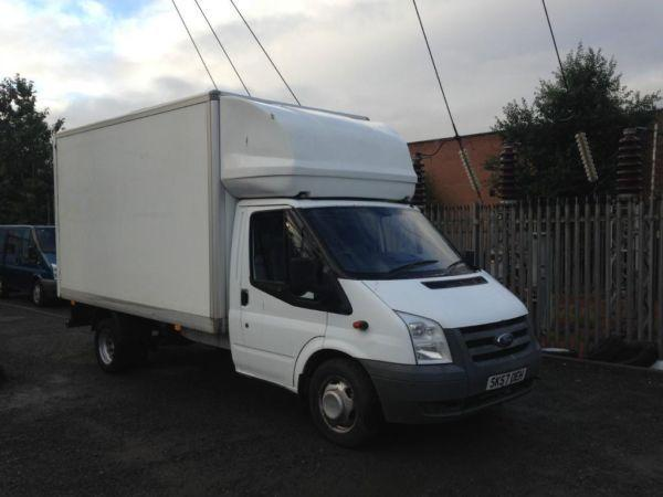 FORD LUTON BOX VAN T350 115 BHP 6 SPEED BOX