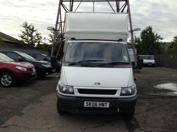 Ford Transit T350 115bhp TDCi Luton Box, with 500kg slim jim tail lift
