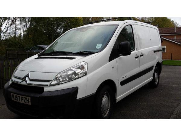 CITROEN DISPATCH WINDOW CLEANING VAN+2 MAN HOT WASH POLE SYSTEM