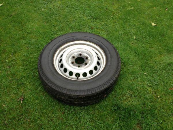 Mercedes Sprinter spare wheel