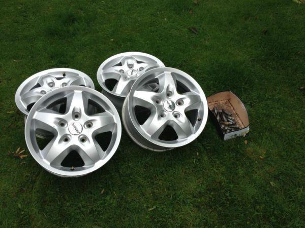 Mercedes Sprinter Ronalt Alloy Wheels