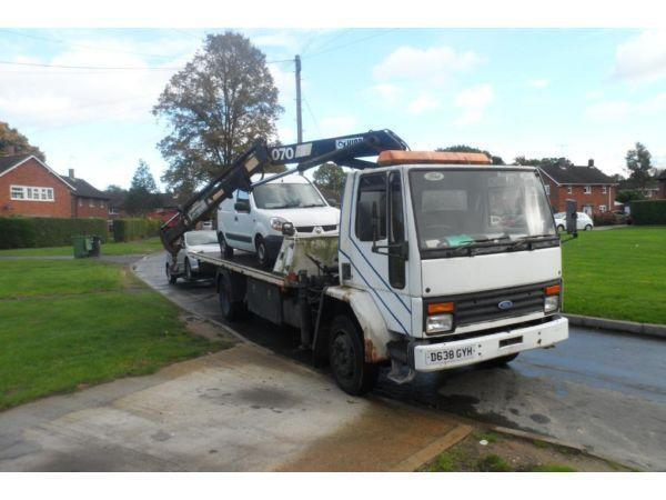 FORD CARGO 1313 RECOVERY TRUCK TILT & SLIDE WITH SPEC LIFT