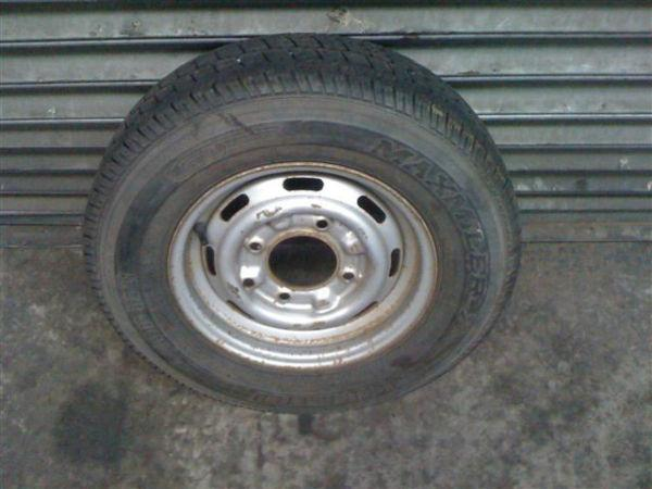 Used Trailer Wheels & Tyres To Fit Ifor Williams, Hudson, Dale Kane