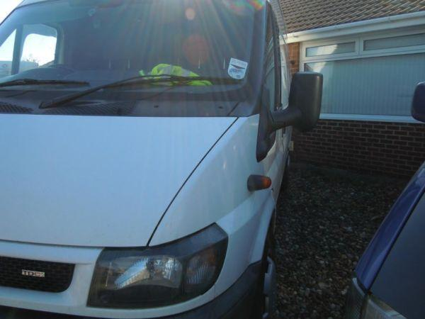 Ford Transit Jumbo XLWB panel van 135bhp 6 speed box