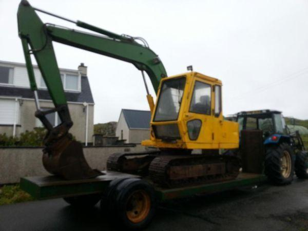 sumitomo s160 excavator for sale quick hitch three buckets