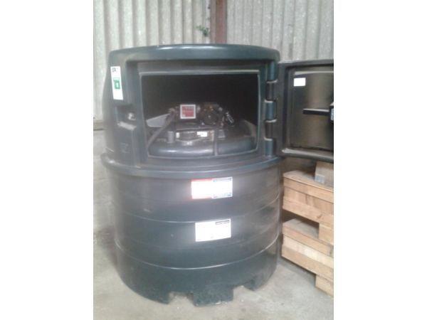 Diesel Fuel Station Bunded Tank 1400FS Harlequin