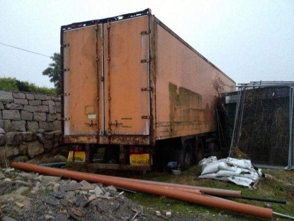 Trailer/container 40ft insulated