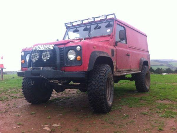 Land rover 110 2.5 turbo diesel