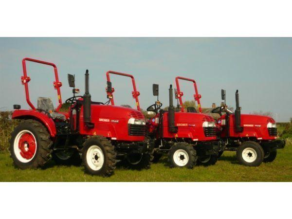 NEW SIROMER COMPACT TRACTORS (20HP TO 35HP) ROAD LEGAL RANGE (FLATPACK)