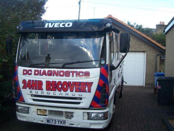 eurocargo 75e17 spec/underlift recovery truck