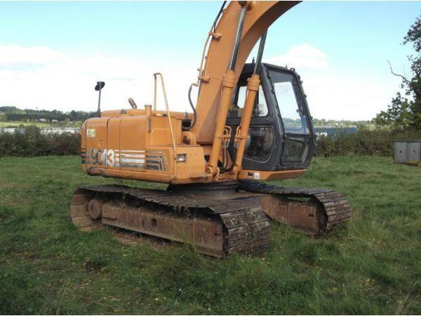For Sale 2000 Case 9013 13 Ton Track Digger