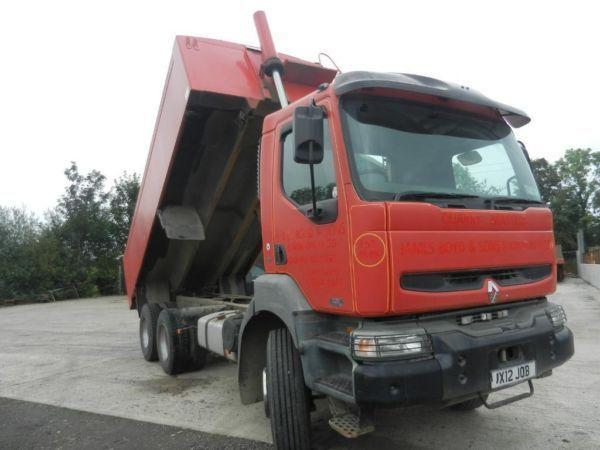 6X4 TIPPER TRUCK FOR SALE