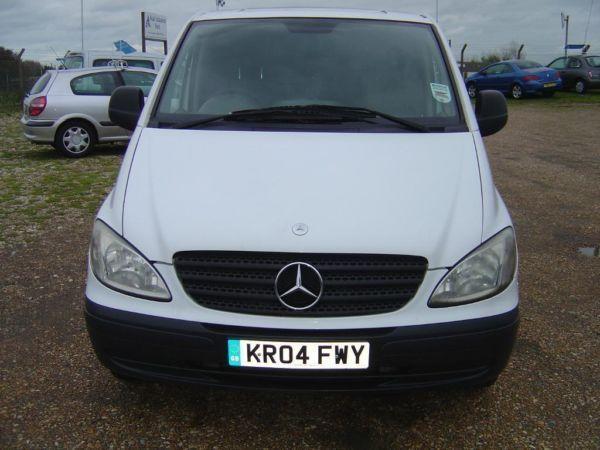 2004 04 Mercedes Vito 2.1 TD 109 CDI Panel Van – Compact